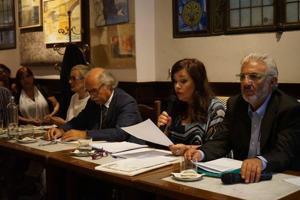 2ª TAPPA Membri della Giuria allo storico Caffè Letterario Le Giubbe Rosse di Firenze