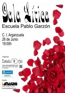 Gala Lírica Escuela Orfeo