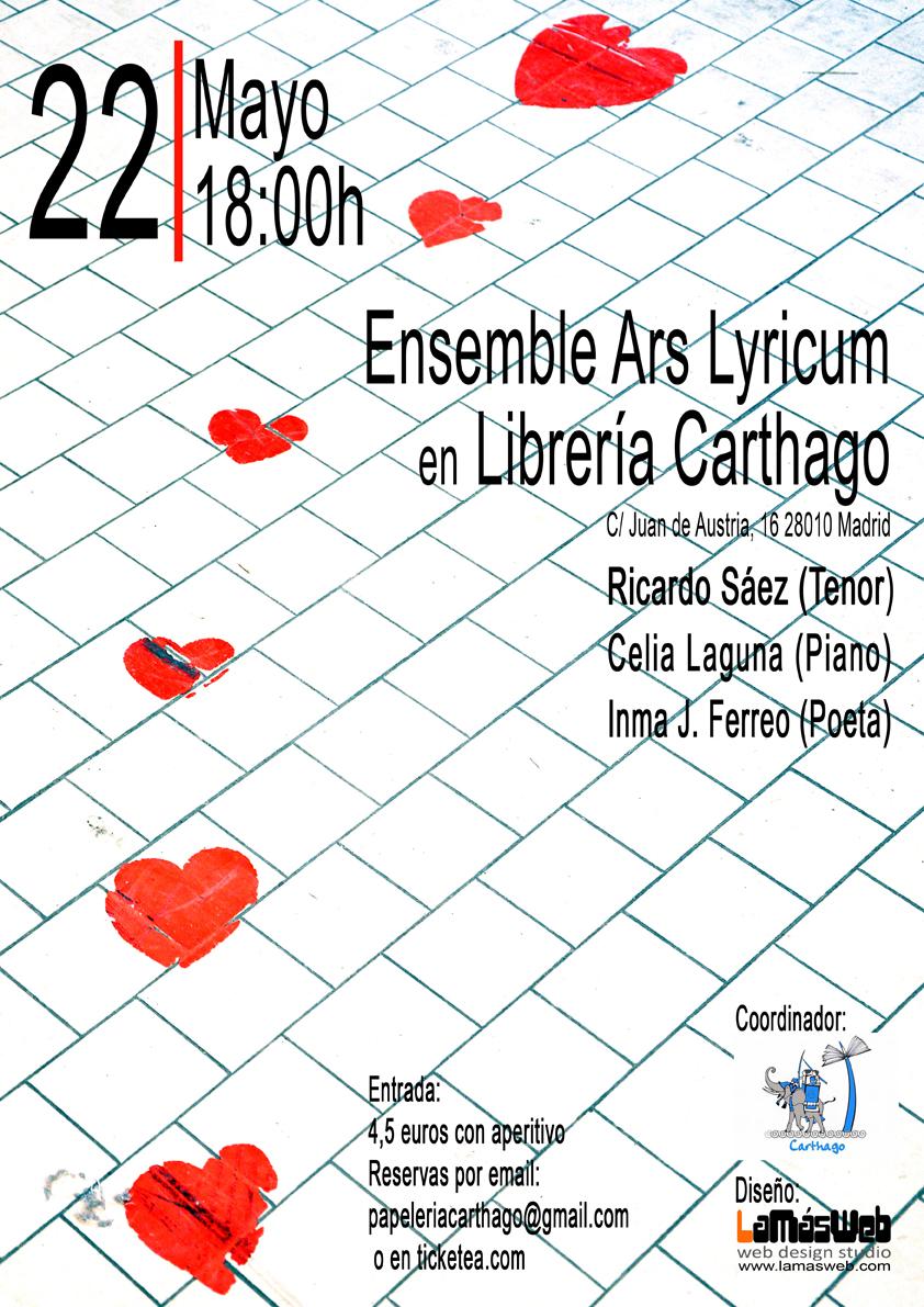 Recital Librería Carthago
