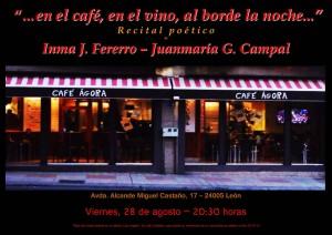 """""""...en el café, en el vino, al borde de la noche..."""""""