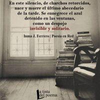 En este silencio…